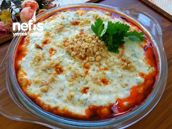 Yoğurtlu Patates Ve Salatalık Mezesi