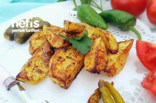 Pratik Nefis Baharatlı Patates Tarifi