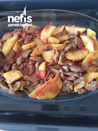 Fırında Etli Patates