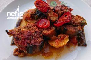 Patlıcan Patates Musakka Tarifi