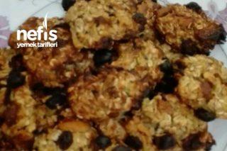 Yulaflı Kurabiye Tanesi 35 Kalori Tarifi