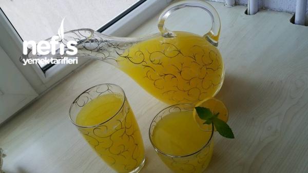 1portakal+1limon =2.5 Lt. Limonata
