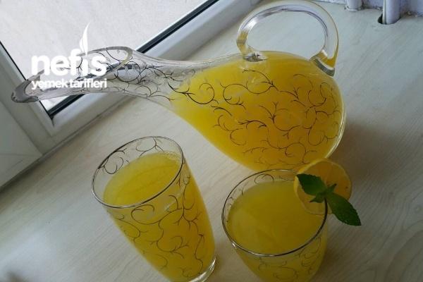 1 Portakal+1 Limon =2.5 Lt. Limonata