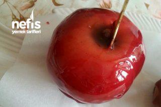 Boyasız ve Katkısız Doğal Kırmızı Elma Şekeri Tarifi