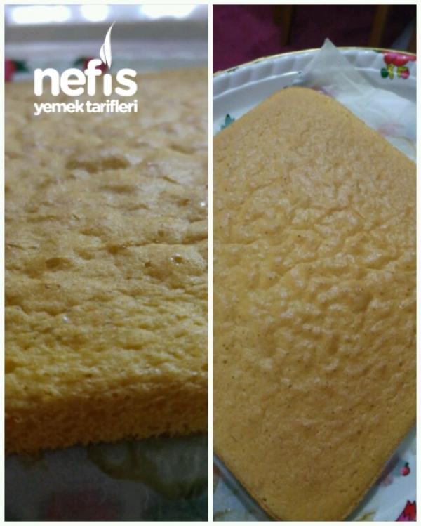 Çilekli Dilim Pasta