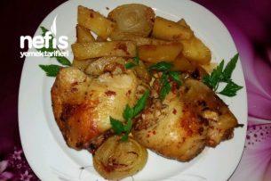 Güveçte Tavuk Pirzola (Taş Fırında) Tarifi
