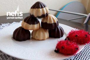 Çikolata Dolgulu Atom Kurabiye Tarifi