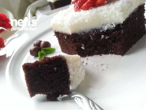 Kakaolu Gelin Pastası(duble Islak)