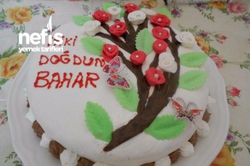 Bahar Dalli Dogum Gunu Pastasi Nefis Yemek Tarifleri