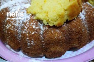 Çok Kabaran Portakallı Kek (Limonlu) Tarifi