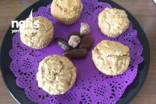 Elmalı Muzlu Muffin Şekersiz Tarifi