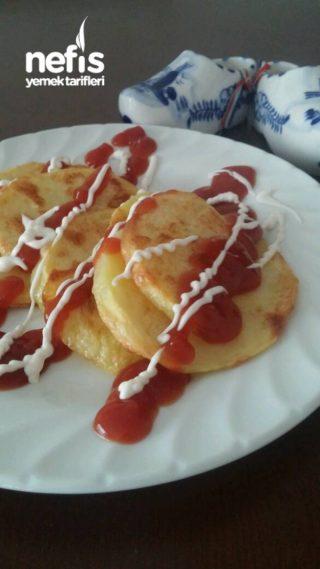 Kahvaltılık Fırında Patates (Kızartma tadında)