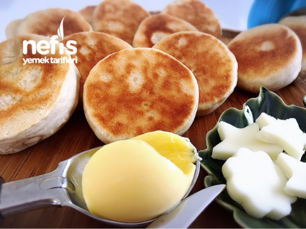 Kahvaltılık Mini Bazlama