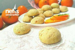 Portakallı Nefis Anne Kurabiyesi (Sıvı Yağlı) Tarifi