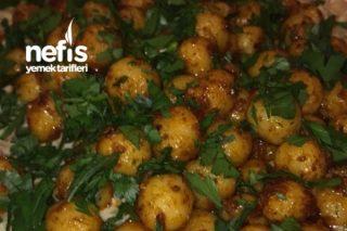 Patlıcan Salatalı Bulgur Köftesi Tarifi