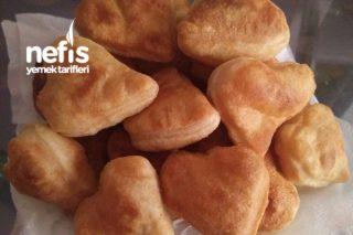 Sevgi Dolu Kahvaltılara Mayasız Pişi Tarifi