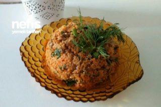 Yeşil Mercimekli Kısır Salatası Tarifi