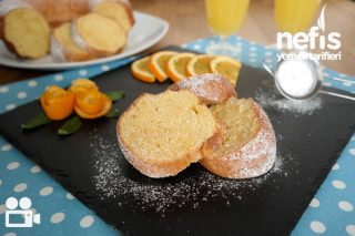 Yumuşacık Portakallı Kek Tarifi Videolu