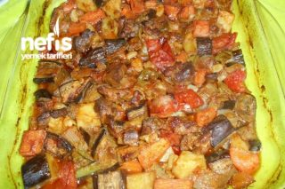 Fırında Sebzeli Hindi Kebap Tarifi