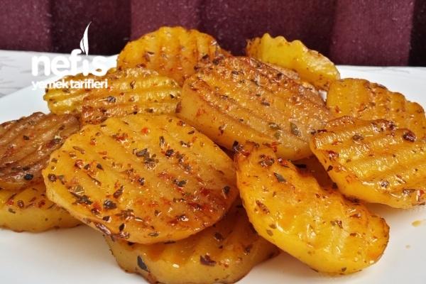 Tavada Baharatlı Patates