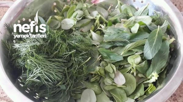 Yogurtlu Fresh Yesillik Salatasi (vitamin Deposu)
