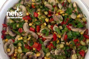 Nefis Mantar Salata Tarifi