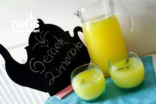 Gerçek Limonata Yapımı (Acılık Yok ) Tarifi