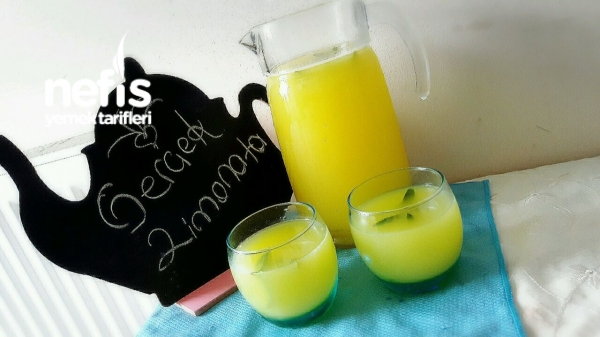 Gerçek Limonata Yapımı (acilik Yok )
