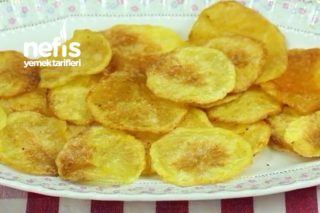 Patates Cipsi Evde Nefis Tarifi