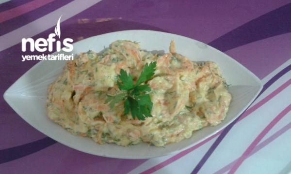 Patates- Havuç Salatası