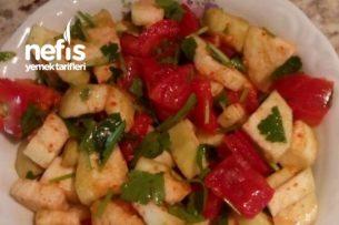 Raw Patlıcan Salatası(Vegan) Tarifi