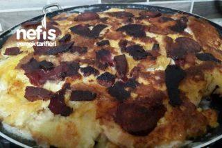 Yumurtalı Ekmek Pizzası (Hafta Sonu Kahvaltısına) Tarifi