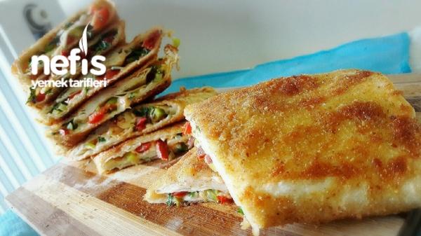 Pratik Kahvalti Böreği (pizza Tadinda)