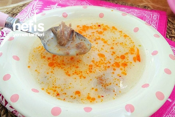 Etli Nefis Düğün Çorbası Tarifi