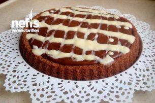 Kolay Çikolatalı Tart Kek Tarifi