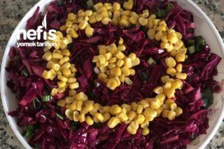 Mor Lahana Salatası (Mis Gibi Turşu Tadında) Tarifi