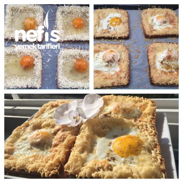 Nefis Cheesy Egg Toast ( Kahvaltılık )
