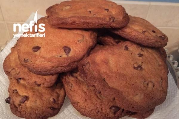 Starbucks Kurabiye (Chocolate Chip Cookie) Tarifi
