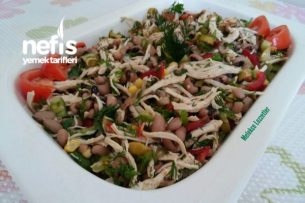 Tavuklu Börülce Gün Salatası Tarifi