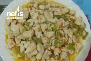 Tuzsuz Tavuk Sote Tarifi
