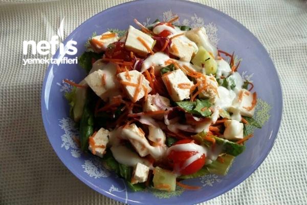 Yunan Salatası (Yunan Usulü)