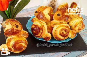 23 Nisan'a Özel Tavşan Çörek Videosu Tarifi