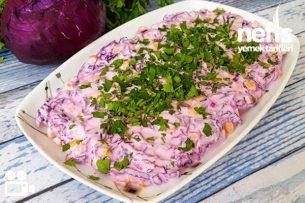 Nefis Kırmızı Lahana Salata Videosu Tarifi