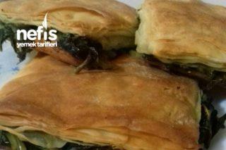 Nişastalı Ispanaklı Börek Tarifi