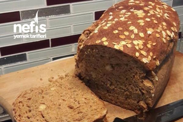Tam Buğday Chialı Çekirdekli Ekmek Tarifi