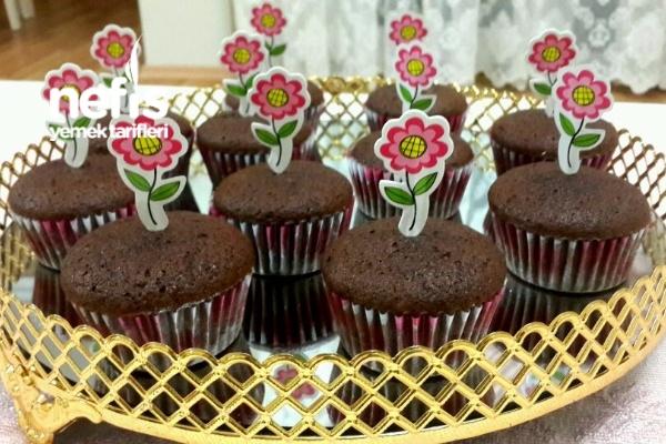 Çikolata Dolgulu Cupcake (20 Adet)