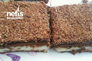 Çikolata Soslu Bisküvili Tatlı Tarifi