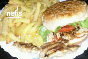 Izgara Tavuklu Burger Tarifi