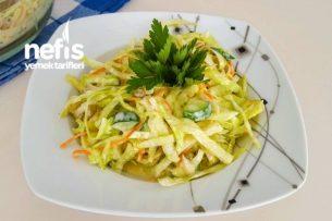 Beyaz Lahana Salata Tarifi