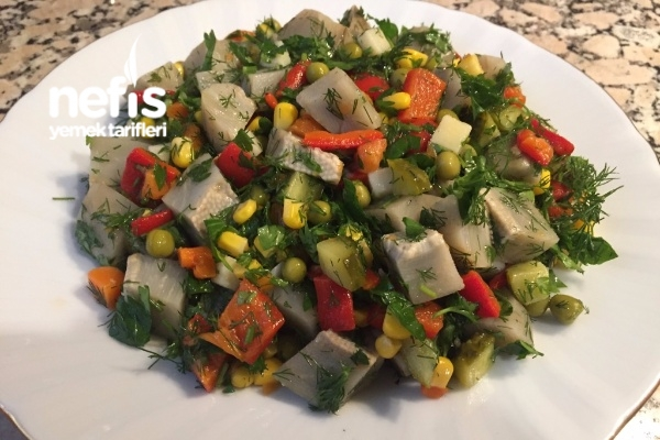 Enginar Salatası (videolu)